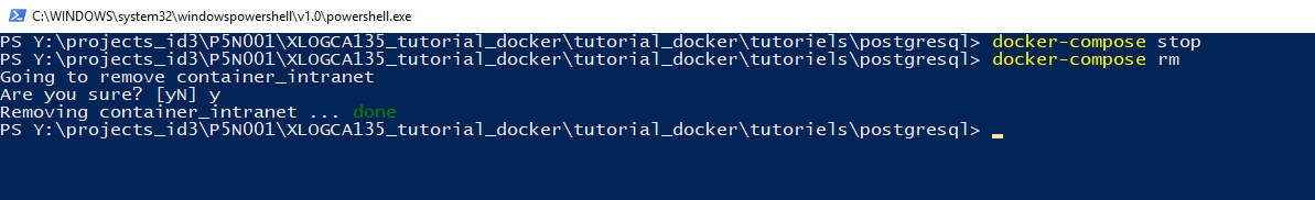 Tutoriel Docker et Postgresql — Tutoriel Docker 2019-02